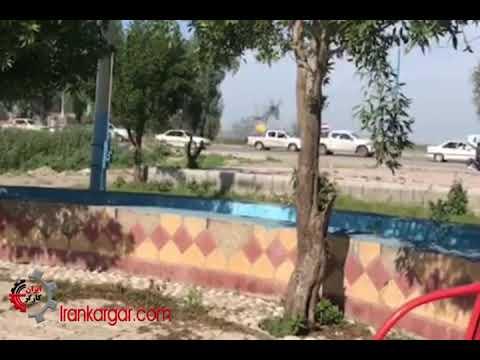 فیلم ورود انبوه شبه نظامیان تروریست حشد الشعبی به ایران - شنبه ۲۴ فروردین