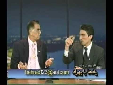 Reza Fazeli with Behrad - 2     رضا فاضلی در گپی دوستانه با بهراد ـ ۲