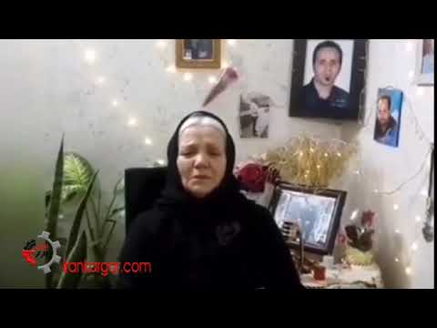 مادر امید رضایی؛ ما رأی نمیدهیم. حالا بیایید ما را هم بکشید - فیلم