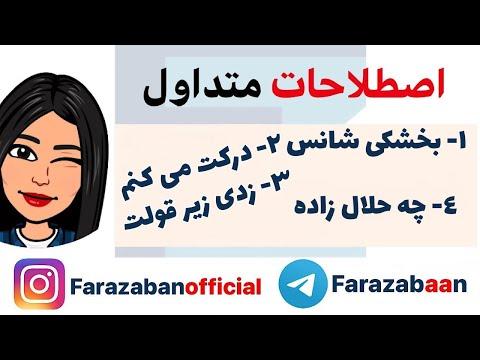 اصطلاحات انگلیسی با ترجمه فارسی