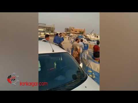 پیوستن کارگان شرکت جهان پارس به اعتصاب سراسری کمپین ۱۴۰۰ نفتگران در سراسر ایران - فیلم