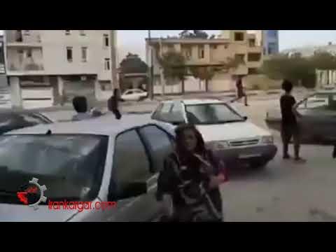فیلمهای ادامه درگیری نیروهای انتظامی با مردم یاسوج و قتل ۳ جوان معترض توسط ماموران
