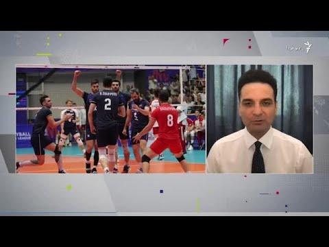 والیبال ایران روی ریل شکست