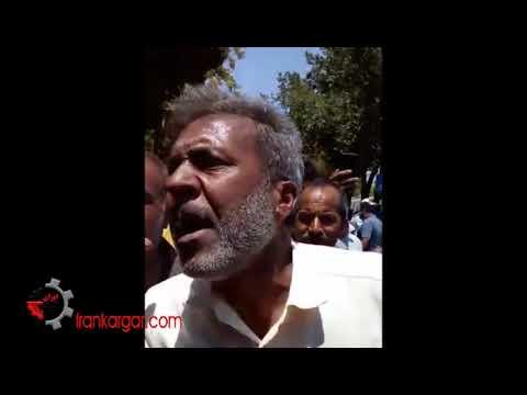 شعار کشاورزان و دامداران خشمگین اصفهان: مسئول نیاز نداریم، گاو را به جاش میذاریم - فیلمها