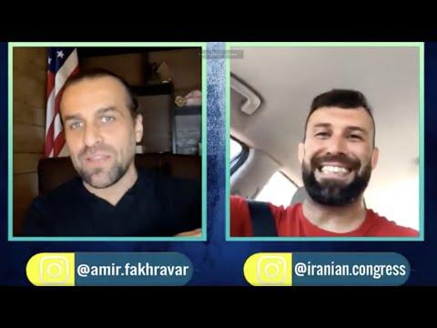 گفتگوی دوستانه امیرعباس فخرآور با سام رجبی قهرمان جودو جهان و عضو سابق تیم ملی ایران
