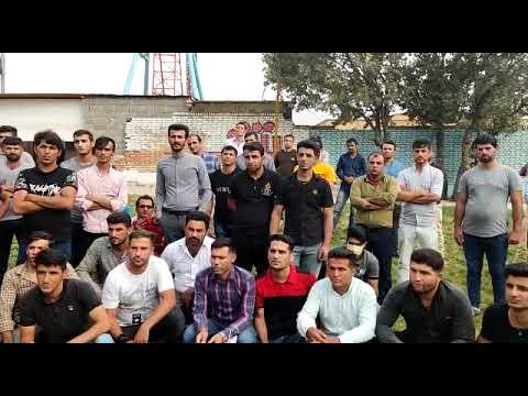 برگزاری مجمع عمومی کارگران اعتصابی لردگان - فیلم