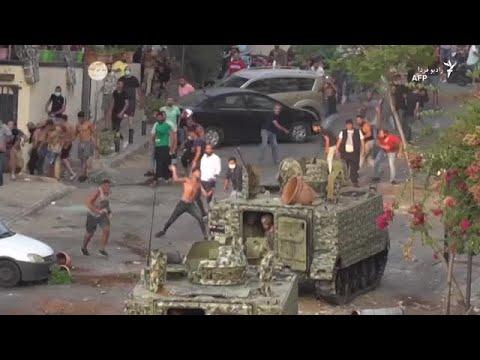 بالا گرفتن دوباره اعتراضها و ناآرامی در لبنان