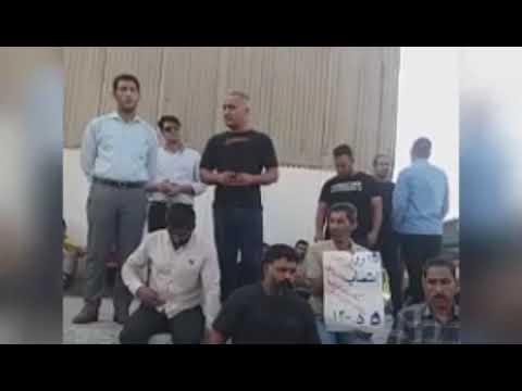 محمد امیدوار یکی از نمایندگان کارگران هفت تپه: یک پرس غذای مدیران شرکت ۲میلیون تومان است - فیلم