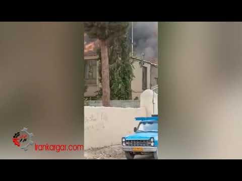 کارخانه تینر ملارد به دلیل کمبود و فرسودگی تجهیزات آتشنشانی در آتش سوخت