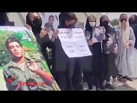 دنبال حقمونیم دست به دست تا سرنگونی؛ تجمع و راهپیمایی مادران جانباختگان آبان ۹۸ در تهران - فیلم