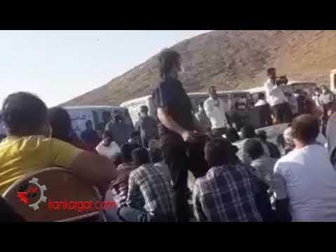 برگزاری مجمع عمومی بزرگ کارگران و صنعتگران اعتصابی پروژههای نفتی استان چهارمحال و بختیاری