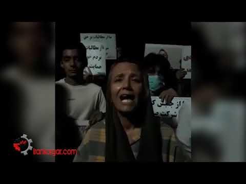 اتحاد بچههای مشهد با تمام مردم خوزستان؛ تجمع در حمایت از اعتراضات خوزستان در مشهد باوجود دستگیریها