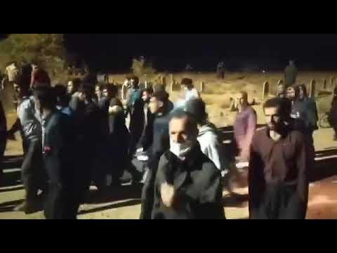 پیروزی مردم غیور دهگلان و جلوگیری از دفن مخفیانه پیکر پدر شهید رامین حسینپناهی