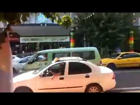 تجمع اعتراضی غارت شدگان مجتمع تجاری قائم در تهران - ویدئو