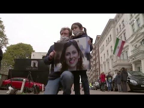 طرح درخواست تحریم ۱۰ مقام ایرانی از سوی کارزار آزادی نازنین زاغری