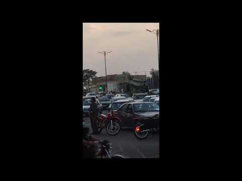انتقال موشک به پادگان نیروی زمینی ارتش در نزدیکی نطنز