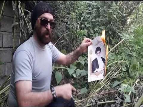 ویدیو: شیدای همدانی، شاعر شجاع و مبارز به دست رژیم ترسوی آخوندی دستگیر شد